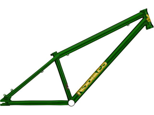 NS Bikes Suburban Cuadro Dirt, trans green